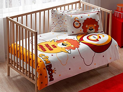 galatasaray bettwaesche Galatasaray Istanbul Baby Kind Bettwäsche - Set Garnitur NEU OVP Tac