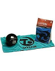 Taylor Gripdri tazones tela turquesa