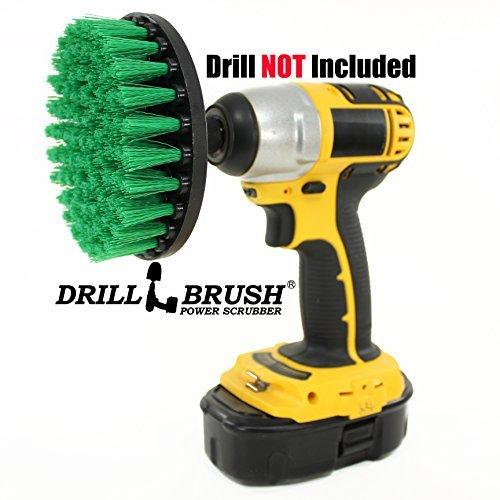 Drillbrush Power Teppichbürste Bohraufsatz Medium Duty Scrubbing Drill Pinsel -