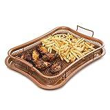 KitchPro Crisper Tablett antihaftbeschichtete Ofen-Luftfritteuse mit Gitterkorb