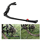 FOXNOVO Adjustable Kickstand Kick Stand Mount for MTB Mountain Bicycle Cycling(Black)