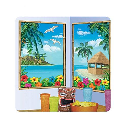 Posters-Escena-Paisaje-Hawaiano-75-x-120-cm