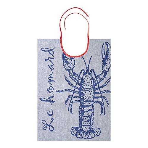 coucke-3152193191113-latzchen-hummer-baumwolle-blau-43-x-60-x-03-cm