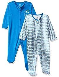 MINI KLUB Baby Boys' Regular Fit Sleepsuit (Pack of 2)
