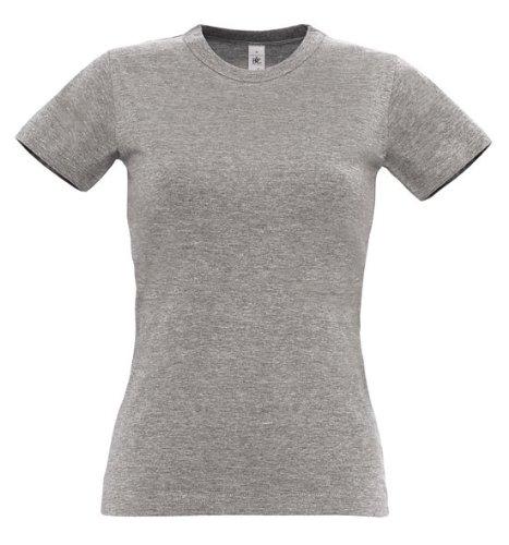 B&C - T-shirt - Manches courtes - Femme Marron - Marron