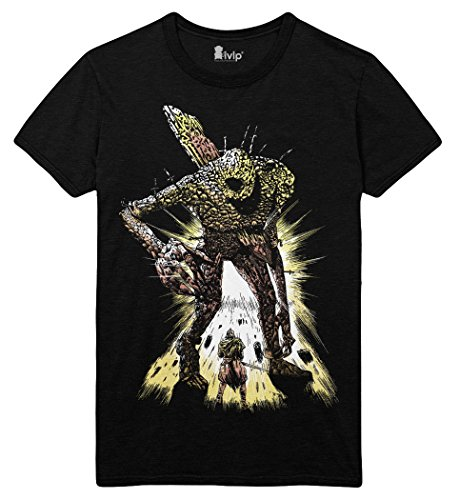 Dark-Souls-3-T-Shirt-Big-Boss-Gre-L