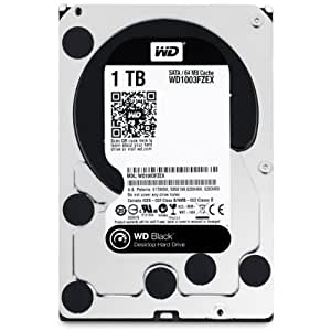 WD 1 TB Performance Desktop Hard Disk Drive (7200 RPM SATA 6 Gb/s 64 MB Cache) - 3.5 inch, Black