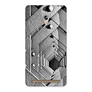 Enticing Cage Hexa Back Case Cover for Zenfone 6