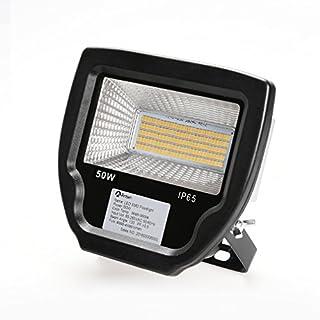 Anten LED Außenstrahler Set Fluter, 50W 230V, 3900lumens, Warmweiß-3000K, IP65, Schwarz
