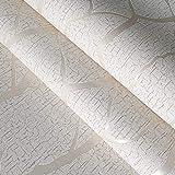 3D geprägte graue Tapete-Birken-Baum-Ausgangsdekor-Wald-Wand-Papier für Wohnzimmer, A