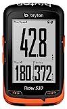 "Bryton, Rider 530E, GPS, 2.6"" Mono LCD, Wi-Fi, Nero"