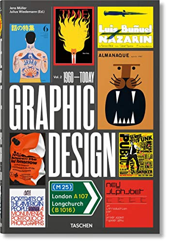 The history of graphic design : Volume 2, 1960-today par Jens Muller