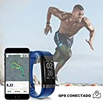 moreFit-Dare-Activity-Tracker-attivit-Tracker-Orologio-Smart-Watch-Cardiofrequenzimetro-Impermeabile-IP67-Cardio-Frequenzimetro-Pedometro-Fitness-Tracker-Bluetooth-Braccialetto-Wristband