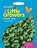 Unwins Pictorial pacco–piccoli coltivatori spinaci Emelia–150semi
