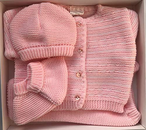 Conjuntos Ropa de Bebe Recien Nacido, Color Rosa