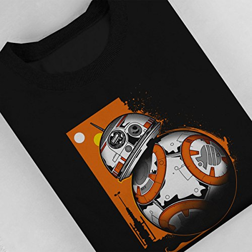 Star Wars BB Rollin Women's Sweatshirt Black
