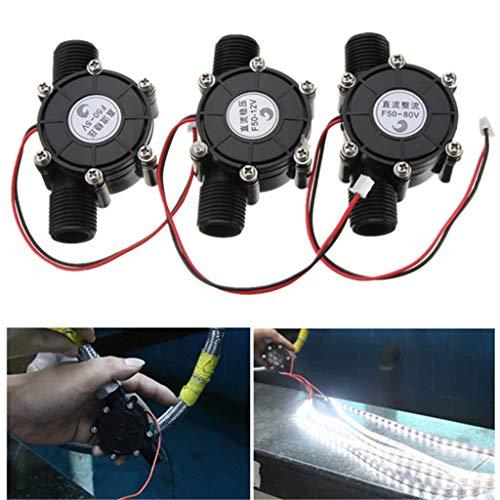 Gaoxing Tech. DC Generador de turbina de agua Agua DC 10W microhidráulica agua de carga de la herramienta 5V/12V/80V