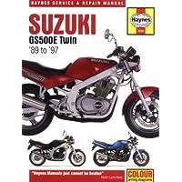 Suzuki GS500E: 1989 Thru 1997 (Haynes Service and Repair Manuals)