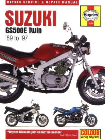 Suzuki Gs500E Twin Service and Repair Manual: 89 To 97 (Haynes Service & Repair Manuals (Paperback))