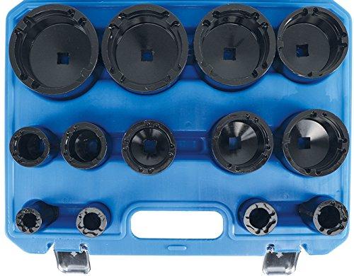 Bgs 9385 Écrou Jeu de | à cônes intérieur | KM0 Clé à KM12 | 13 pièces