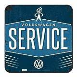 Nostalgic-Art 46144 Volkswagen - VW Service, Metall-Untersetzer