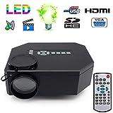 Mini projecteur Portable Full HD 1080p Home cinéma TV Films Jeux vidéo