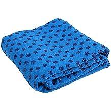 QuBaoErTai Toalla Yoga Antideslizante Grip - Antideslizante y de Secado Rápido - Manta Yoga Antideslizante -