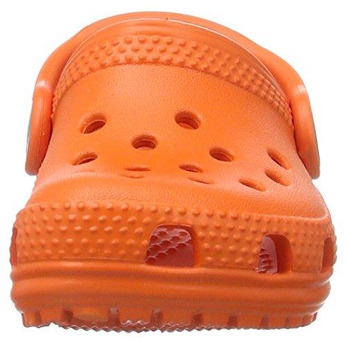 Crocs Classic Clog Kids, Sabot Unisex-bambini Arancione (Tangerine)