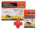 Cinq sur Cinq - Kit protection contre les Moustiques pour la Maison - Cinq sur Cinq Diffuseur Double Usage + Cinq sur Cinq Recharge Liquide 50 nuits