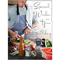 Greeting Card (JJ1923) - Male Birthday - Special Wishes - Chef