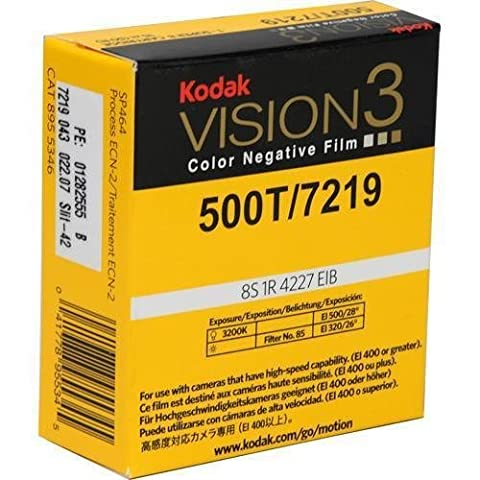 Kodak Vision3 Super 8 mm Farbnegativfilm 500T