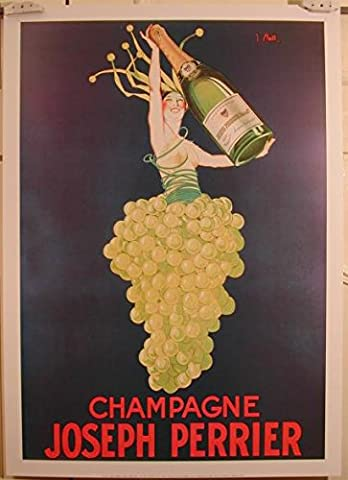 Champagne Joseph Perrier - 50X70 Cm Affiche / Poster