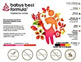 BABYS BEST FORMULA: NAHRUNGSERGÄNZUNG FÜR DIE SCHWANGERSCHAFT. BABYS BEST FORMULA IST EIN VEGANES PFLANZLICHES SCHWANGERSCHAFTSPRÄPARAT MIT DHA (PFLANZLICHES OMEGA-3) KEIN FISCHÖL, FOLSÄURE UND TOCOTRIENOLE (VITAMIN E) AUS GERSTENGRAS-AUSTRIEBEN, Q10 IN NATÜRLICHER FORM AUS HEFE FERMENTIERT, ANTIOXIDANTIEN NATÜRLICHEN URSPRUNGS, JOD UND VIELES MEHR. VITAMINE UND MIKRONÄHRSTOFFE BEI KINDERWUNSCH, SCHWANGERSCHAFT, STILLZEIT. NUR 1 KAPSEL PRO TAG, INHALT 60 KAPSELN, KEINE TIERISCHE GELATINE