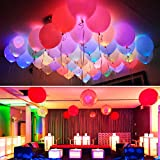 Discount Retail 25 LED Balloons Mixed Co...