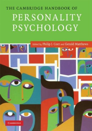 [(The Cambridge Handbook of Personality Psychology)] [ Edited by Philip Corr, Edited by Gerald Matthews ] [August, 2009]