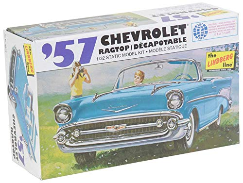 Lindberg Models Echelle 1 : 32 modèle 1957 Chevy Ragtop Kit