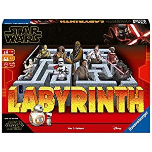 Ravensburger 26137 Star Wars IX The Rise of Skywalker Labyrinth-The Moving Maze Game,