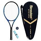 Senston Racchetta da Tennis, Inclusa Borsa da Tennis, overgrip da 1 Pezzo e 1 Ammortizzatore (Colore Casuale)