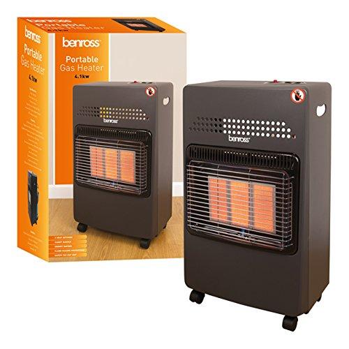 51JXjJVjHtL. SS500  - Benross Portable Gas Cabinet Heater ~ 4.1kw ~ 47280