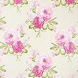 Fabulous Fabrics Dekostoff Ottoman Blumen - Natur -