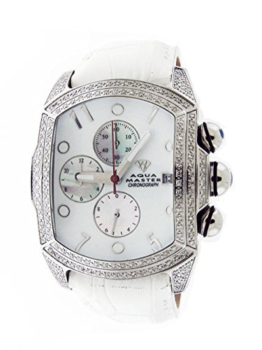 Aqua Master AM-#66BL2.50Wht AM-#66BL2.5Wht - Reloj color blanco
