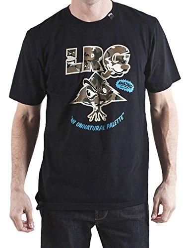 Herren T-Shirt LRG Wolf Camo Tree T-Shirt Black