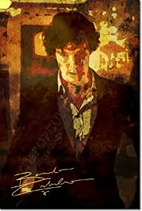 """BENEDICT CUMBERBATCH ORIGINAL ART PRINT """"INTENSITY"""" - WITH SIGNED AUTOGRAPH REPRODUCTION - STAR OF SHERLOCK - 12x8 A4 GLOSSY POSTER GIFT"""