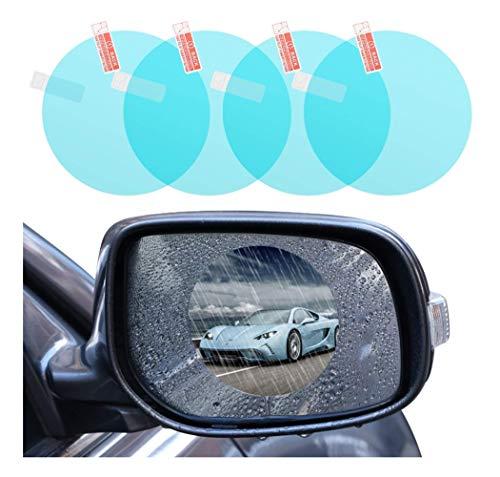 Protecteur de Film imperméable pour rétroviseur de Voiture, Conduisez en Toute sécurité HD Clear Film Nano de revêtement de revêtement imperméable pour rétroviseur et vitre latérale d'automobile