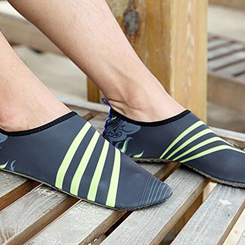 De Beach Sapatos Sapatos Sapatos Fluir Sapatos Lvrao Cinza Elásticos E Água Verão Senhores Praia De Aqua Senhoras 0qxfAXnz