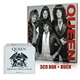 The Platinum Collection (2011 Remastered) [Original Recording Remastered, Box-Set] & Buch - Queen (Classic, Rare and Unseen) [Englisch] [Gebundene Ausgabe] im SET -