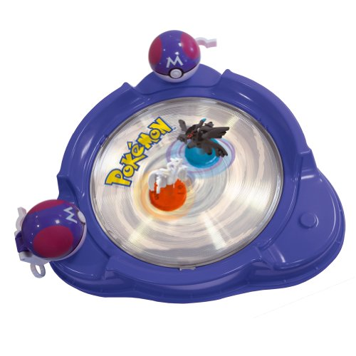 Bandai - Pokémon - 85990 - Figurine - Accessoire - Arène Combat + 2 Twister Figurine Lumineuse