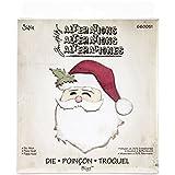 Sizzix Bigz Fustella, Babbo Natale, Acciaio Inossidabile, Bianco, 1.9x14x17.39 cm