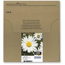 Epson Daisy 18 Claria Home Ink Easy Mail Pack Cartridges - Multi-Coloured, 4 Colour Multipack