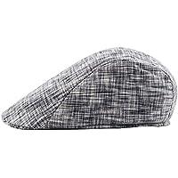 Leisial Boinas de Hombre Mujer Casual Deportes Sombrero para el Sol Hat  Flat Cap Sombrero del 23d5c9e081c
